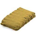 Gouden Crepe Papier Slinger 6 meter