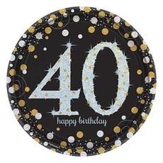 Bordjes 40 jaar Sparkling Celebration