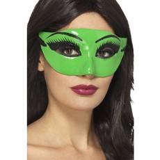 Oogmasker groen heks