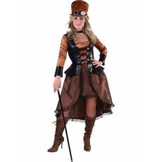 Steampunk jurk Evi