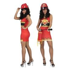 Girl on fire brandweer jurkje