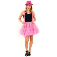 Petticoat pink 3-laags volwassenen