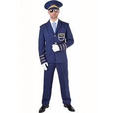 Pilotenpak blauw carnaval