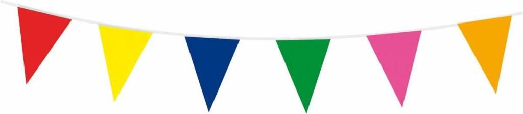 Vlaggenlijn meerkleurig - 10 meter