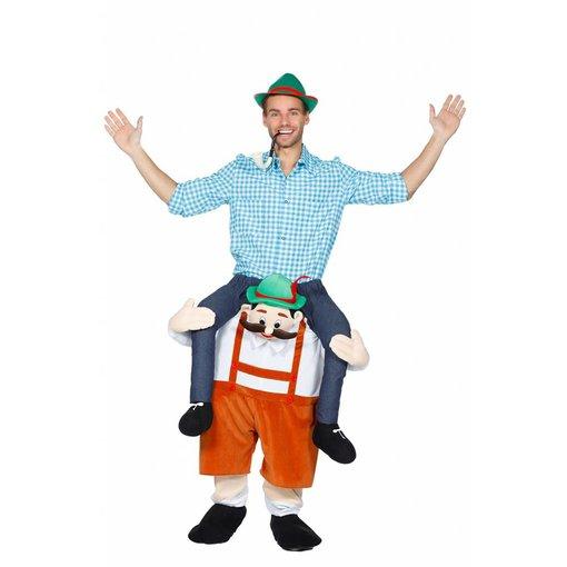 Gedragen door Tiroler man kostuum