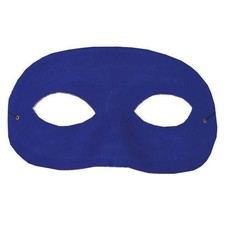 Oogmasker loup blauw
