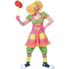 Clownskostuum vrouw Pokey