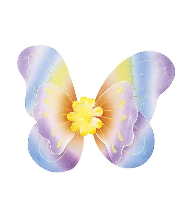 Kleurrijke vleugel Iris 40x50cm