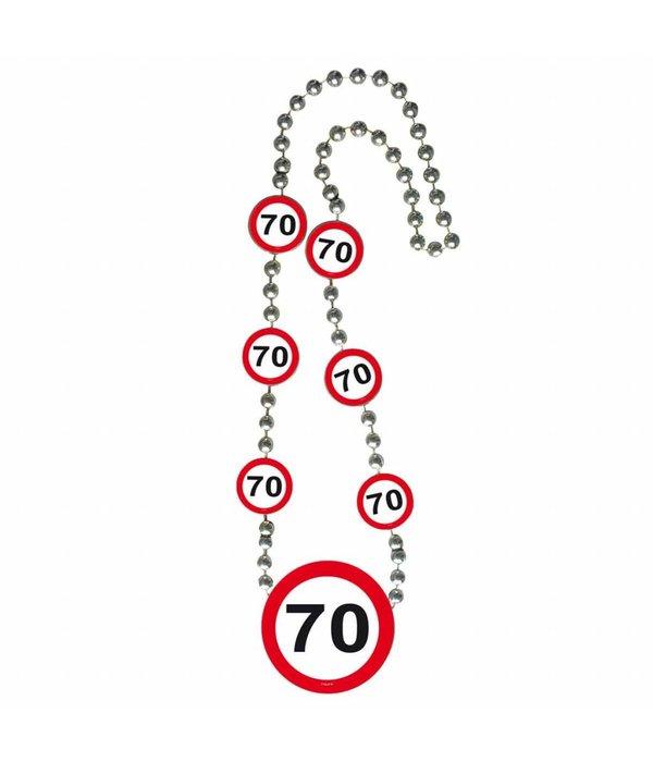 70 Jaar Verkeersbord Ketting