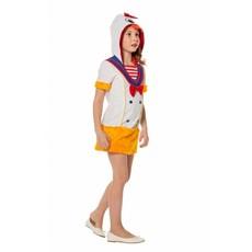 Eend Kostuum Meisje