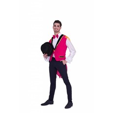 Circus Gilet Roze Heren Toppers