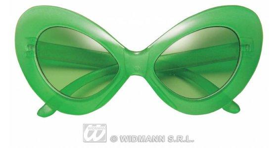 Groene bril