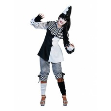 Pierrot kostuum dames Pedrolina