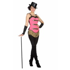 Circus korset roze Toppers