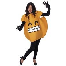 Lachende Emoticon kostuum