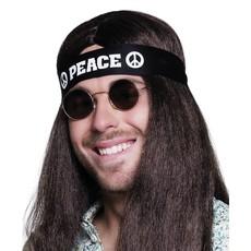 Peace hoofdband zwart