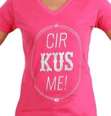 Toppers T-shirt vrouw 'Cir KUS Me'