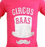 Toppers T-shirt man 'Circus Baas'