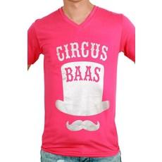 Toppers T-shirt man 'Circus Baas'