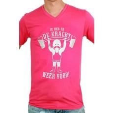 Toppers T-shirt man 'Ik heb er de kracht weer voor'