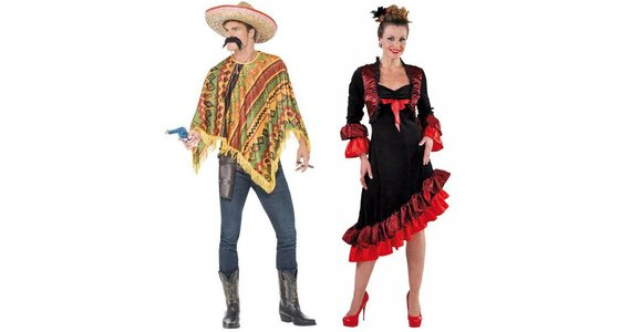 Spaanse & Mexicaanse kleding