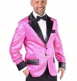 Colbert man glitter pink