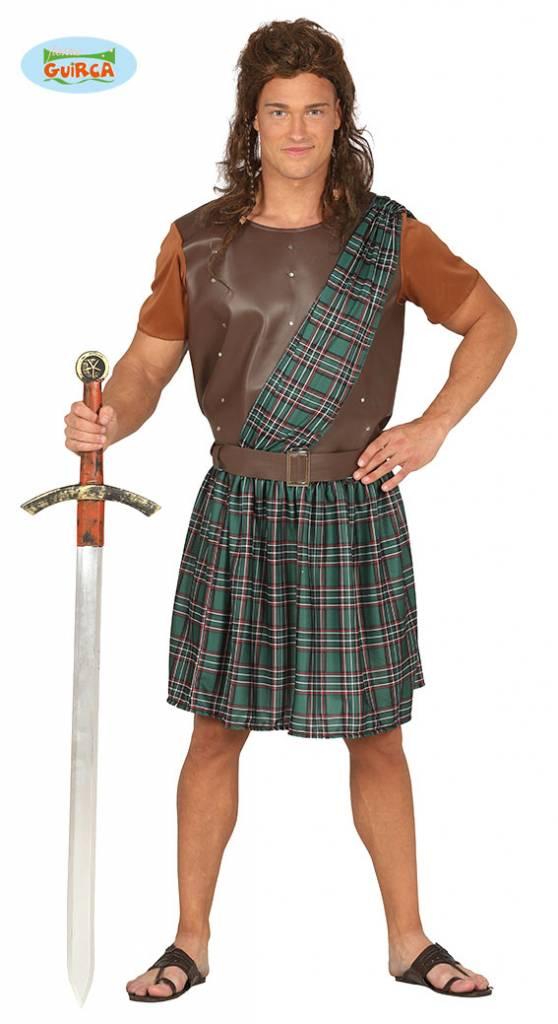Schotse krijger kostuum