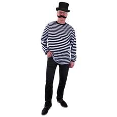 Dorus trui zwart/wit lange mouw