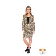 Dames kostuum luipaard Luxe