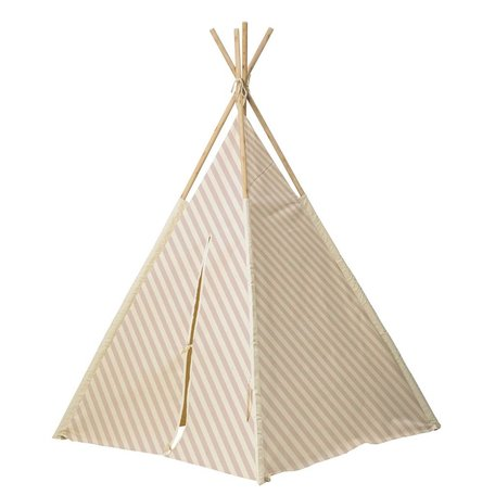 tipi tent kids naturel