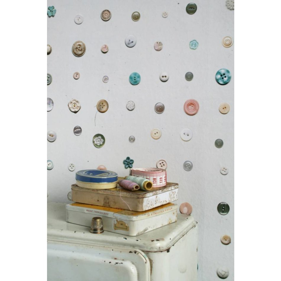 Studio ditte knopen behang ippys - Studio decoratie m ...