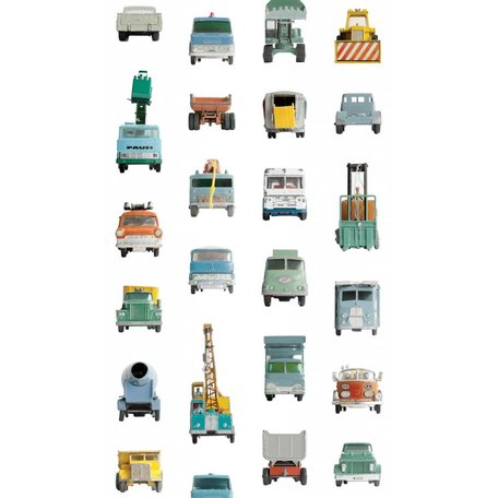 behang transportauto's