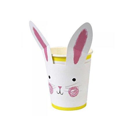 beker met konijnengezicht