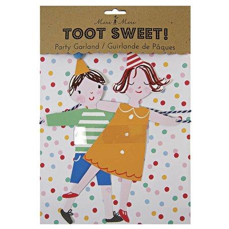 verjaardag slinger Toot Sweet
