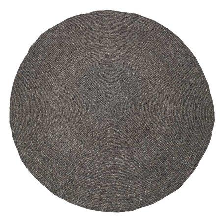 rond kleed grijs 140 cm.