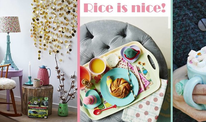 Geef het leven kleur en voeg er een dot humor aan toe: typisch Rice DK!