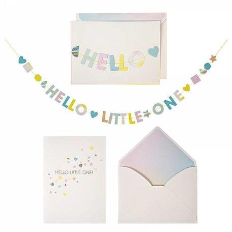 kaart hello little one