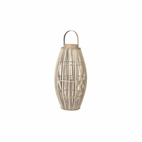 Windlicht Bamboo hout