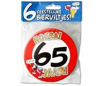 Gadgets Bierviltjes 65 jaar