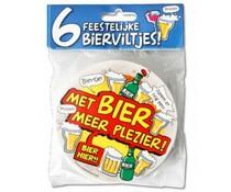 Gadgets Bierviltjes Met bier meer plezier