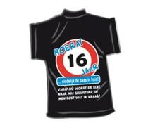 T-Shirtje-16 jaar