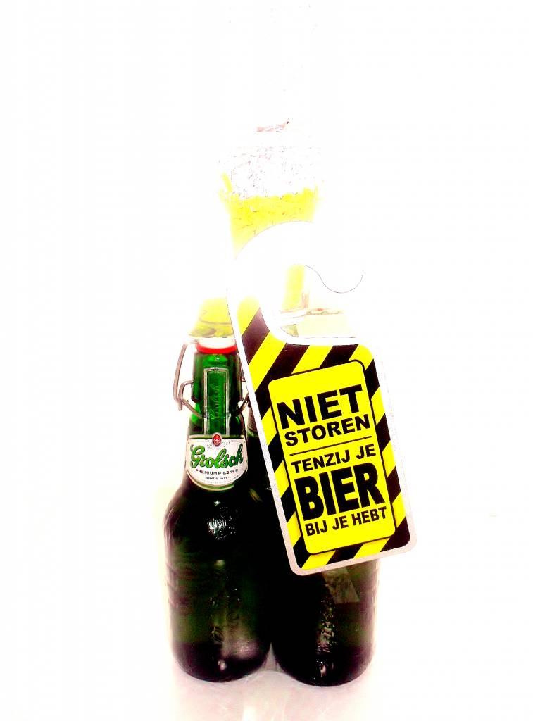 Bierpakket Grolsch Biertoren Cadeauwarenshop Nl
