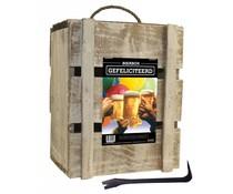 Relatiegeschenk Bierbox Gefeliciteed