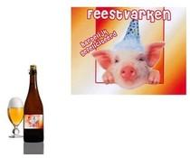 Bierpakket Bierfles Feestvarken