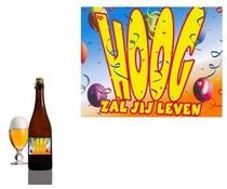 Bierpakket Bierfles Hoog zal jij leven