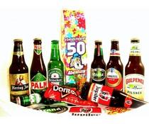 Bierpakket (Melkpak) Gefeliciteerd! 50 Abraham