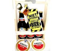 Biergeschenk bierrek Amstel