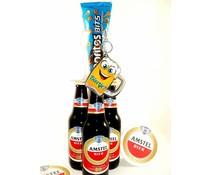 Biergeschenk happy opener Amstel
