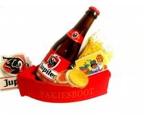 Sinterklaas bierpakket pakjesboot Jupiler