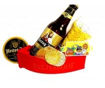 Sinterklaas bierpakket pakjesboot Hertog-Jan